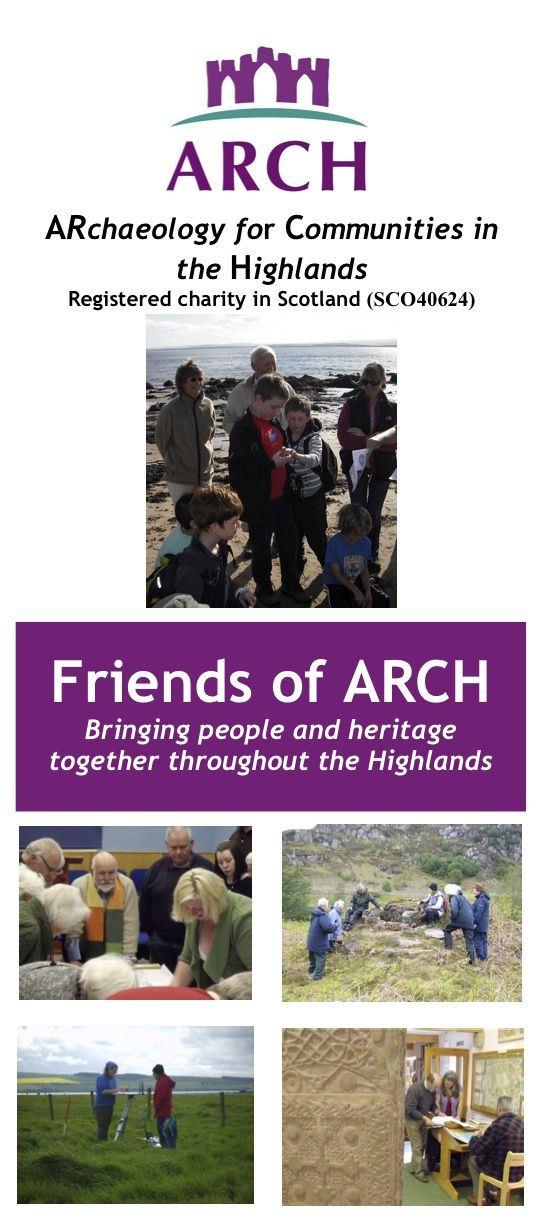 ARCH Friends leaflet